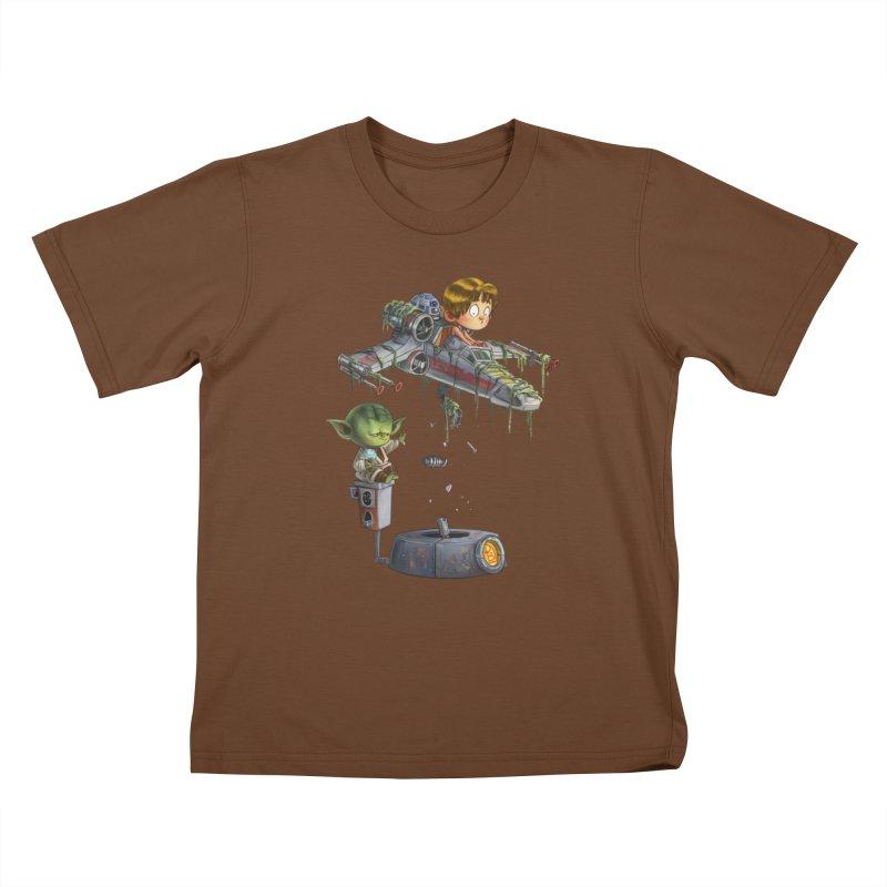 YO-DA Man Kids T-Shirt by Patrick Ballesteros Art Shop