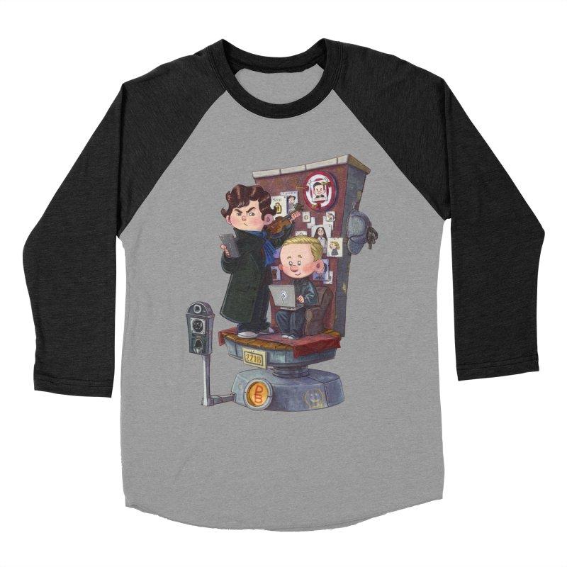 Get A Clue Women's Baseball Triblend Longsleeve T-Shirt by Patrick Ballesteros Art Shop