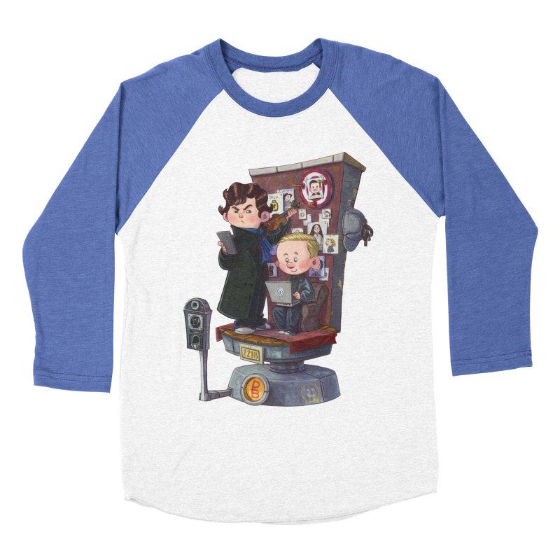 Get A Clue Men's Baseball Triblend Longsleeve T-Shirt by Patrick Ballesteros Art Shop