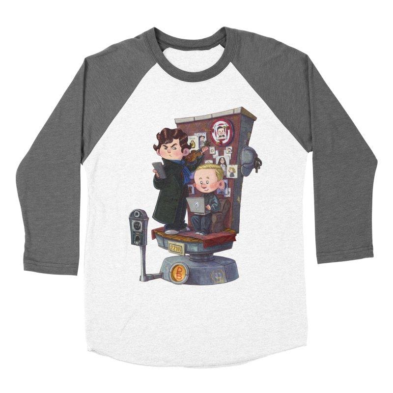 Get A Clue Men's Baseball Triblend T-Shirt by Patrick Ballesteros Art Shop