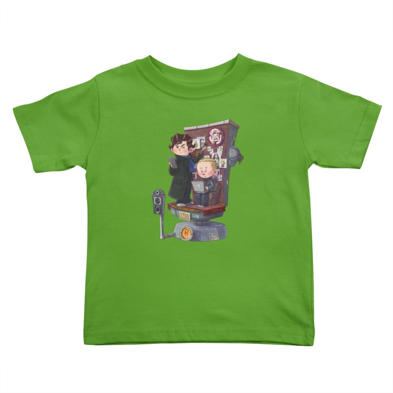 Get A Clue Kids Toddler T-Shirt by Patrick Ballesteros