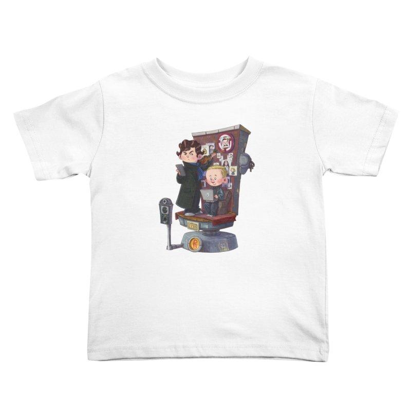 Get A Clue Kids Toddler T-Shirt by Patrick Ballesteros Art Shop