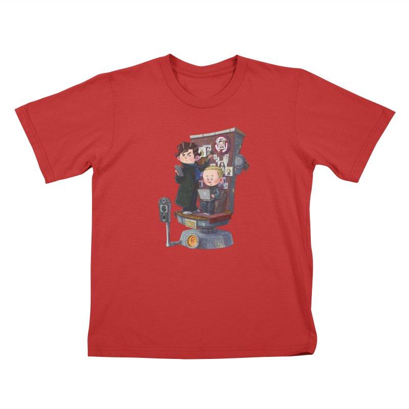 Get A Clue Kids T-Shirt by Patrick Ballesteros Art Shop