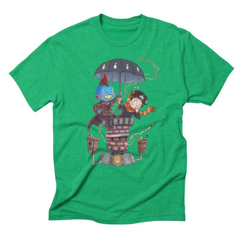 ELEMENTAL FUN Men's Triblend T-Shirt by Patrick Ballesteros