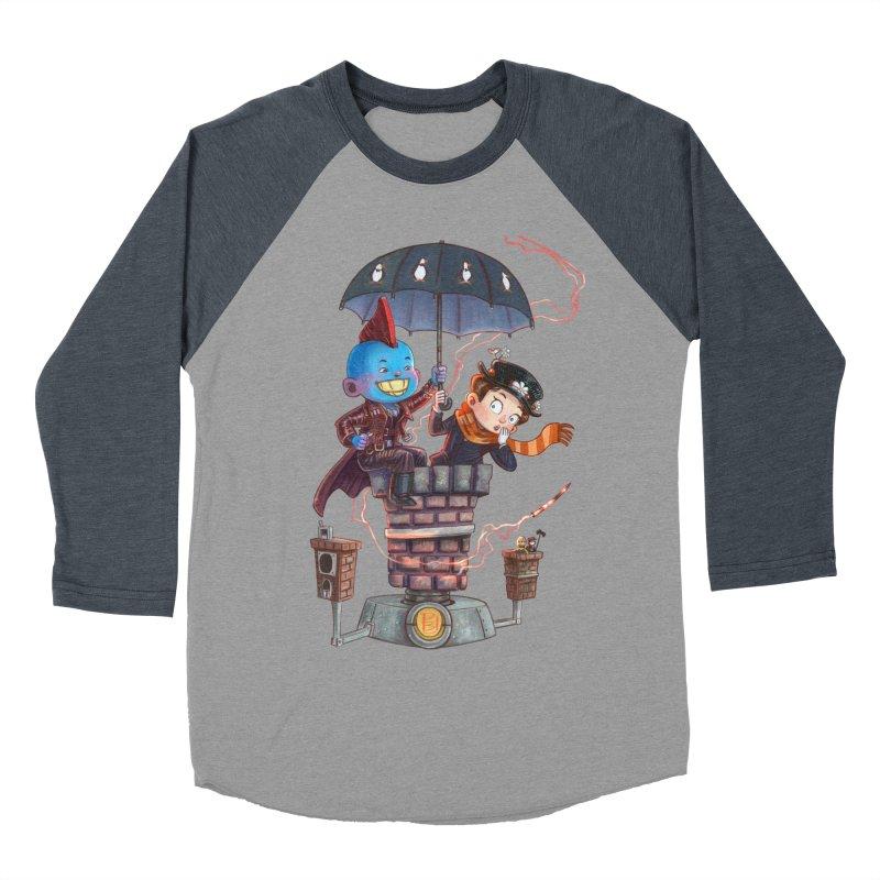 ELEMENTAL FUN Women's Baseball Triblend Longsleeve T-Shirt by Patrick Ballesteros