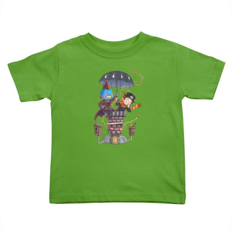 ELEMENTAL FUN Kids Toddler T-Shirt by Patrick Ballesteros Art Shop
