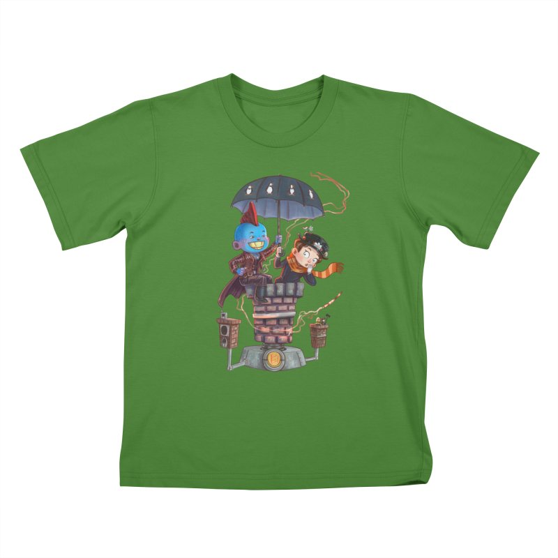 ELEMENTAL FUN Kids T-Shirt by Patrick Ballesteros Art Shop