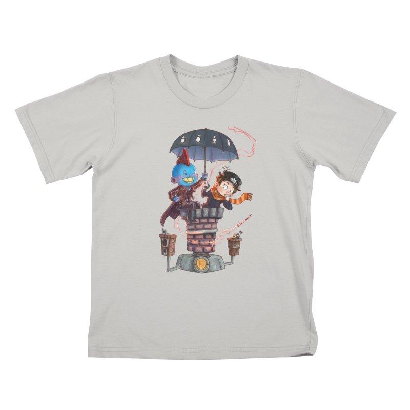 ELEMENTAL FUN Kids T-shirt by Patrick Ballesteros Art Shop
