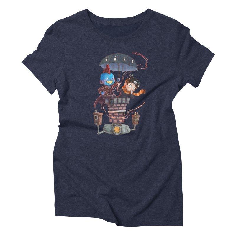 ELEMENTAL FUN Women's Triblend T-Shirt by Patrick Ballesteros