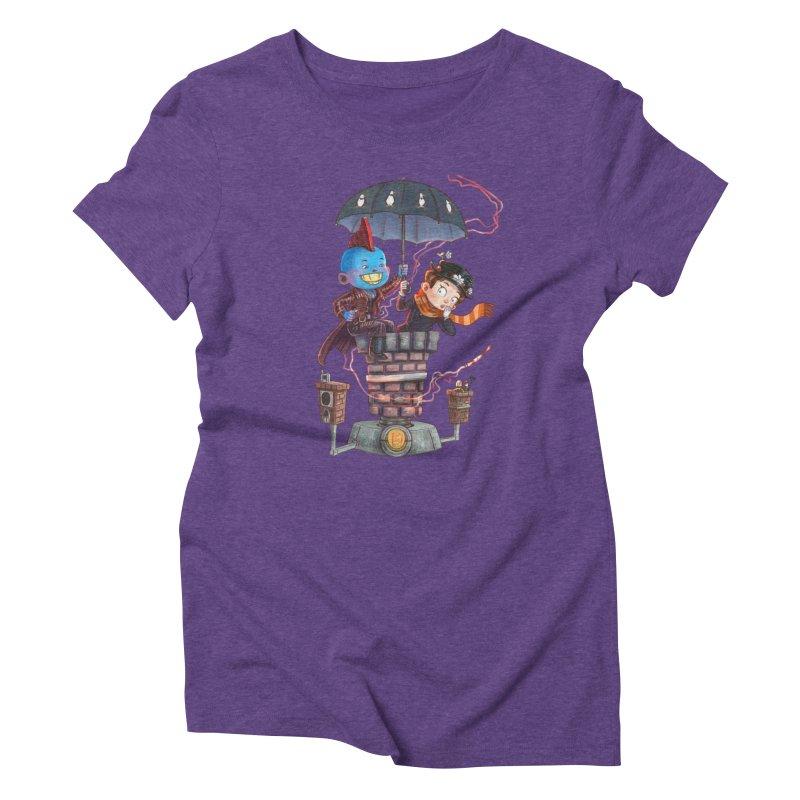 ELEMENTAL FUN Women's Triblend T-Shirt by Patrick Ballesteros Art Shop