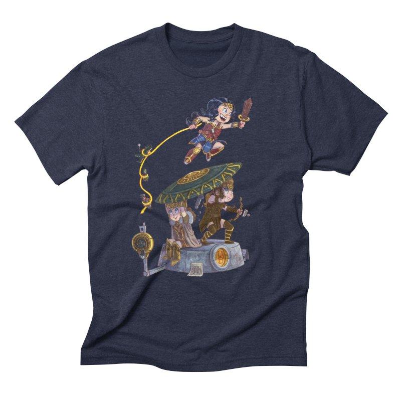 AMAZON PRIDE Men's Triblend T-Shirt by Patrick Ballesteros