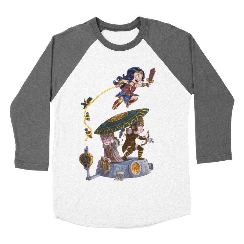 AMAZON PRIDE Women's Baseball Triblend T-Shirt by Patrick Ballesteros Art Shop