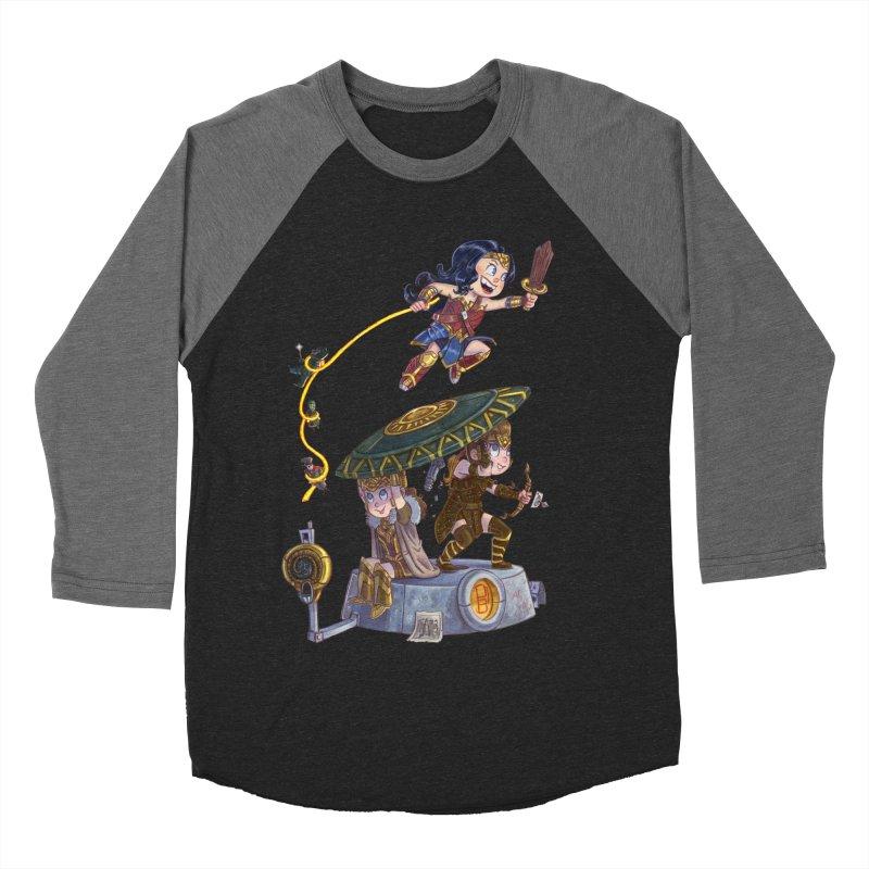 AMAZON PRIDE Men's Baseball Triblend T-Shirt by Patrick Ballesteros Art Shop