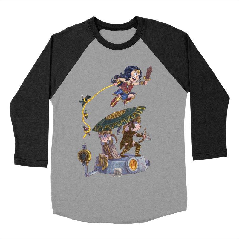 AMAZON PRIDE Men's Baseball Triblend Longsleeve T-Shirt by Patrick Ballesteros Art Shop