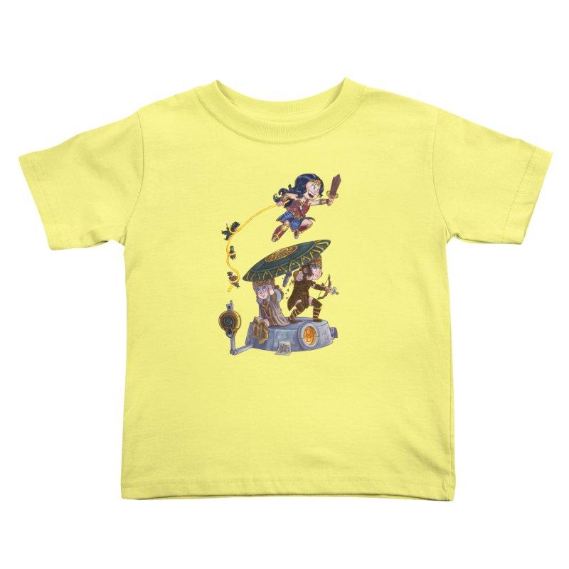 AMAZON PRIDE Kids Toddler T-Shirt by Patrick Ballesteros Art Shop