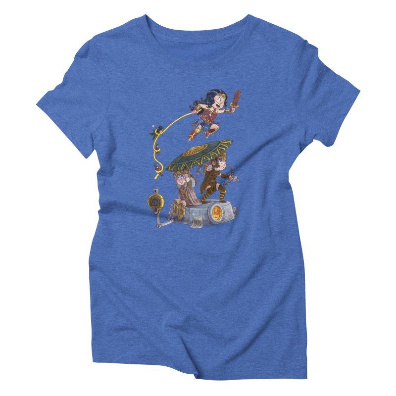 AMAZON PRIDE Women's Triblend T-Shirt by Patrick Ballesteros Art Shop