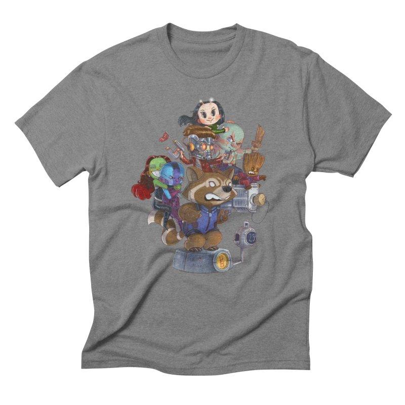 EGO CHECK Men's Triblend T-Shirt by Patrick Ballesteros