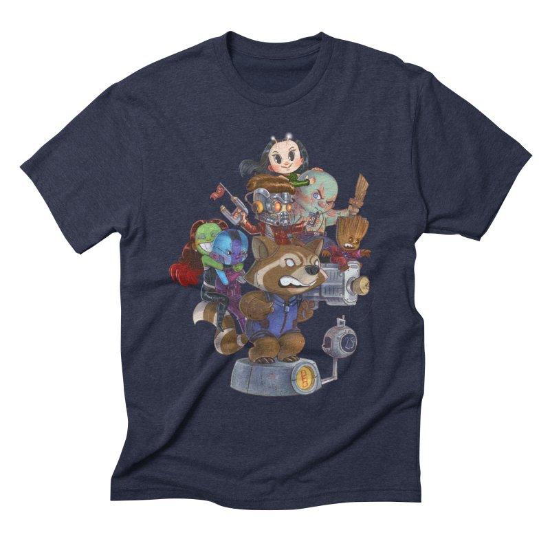 EGO CHECK Men's Triblend T-shirt by Patrick Ballesteros Art Shop