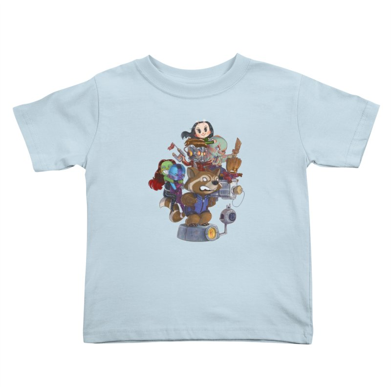 EGO CHECK Kids Toddler T-Shirt by Patrick Ballesteros
