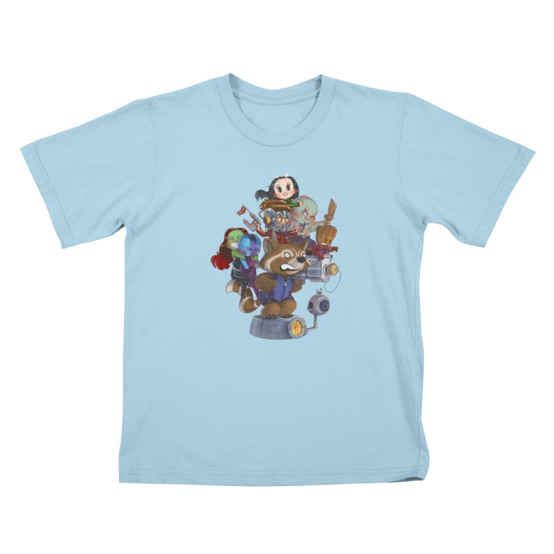 EGO CHECK Kids T-Shirt by Patrick Ballesteros
