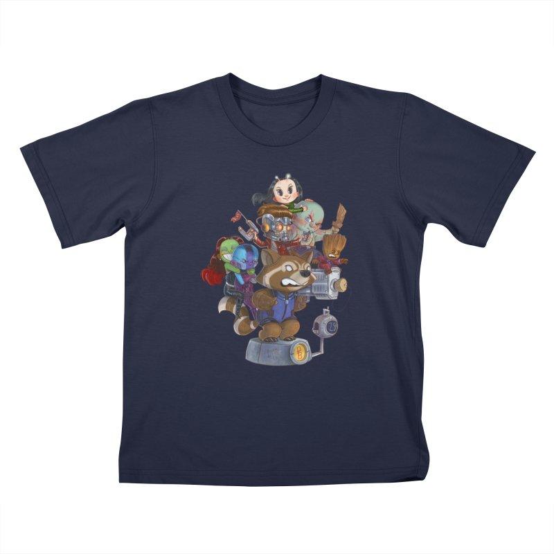 EGO CHECK Kids T-Shirt by Patrick Ballesteros Art Shop