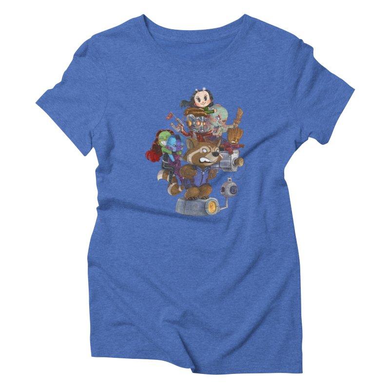 EGO CHECK Women's Triblend T-Shirt by Patrick Ballesteros
