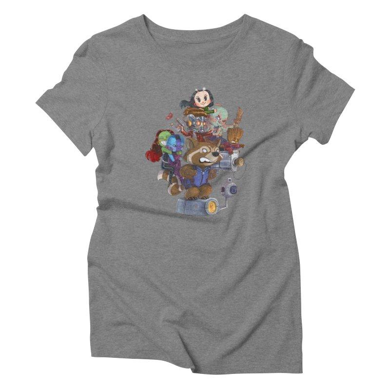 EGO CHECK Women's Triblend T-Shirt by Patrick Ballesteros Art Shop