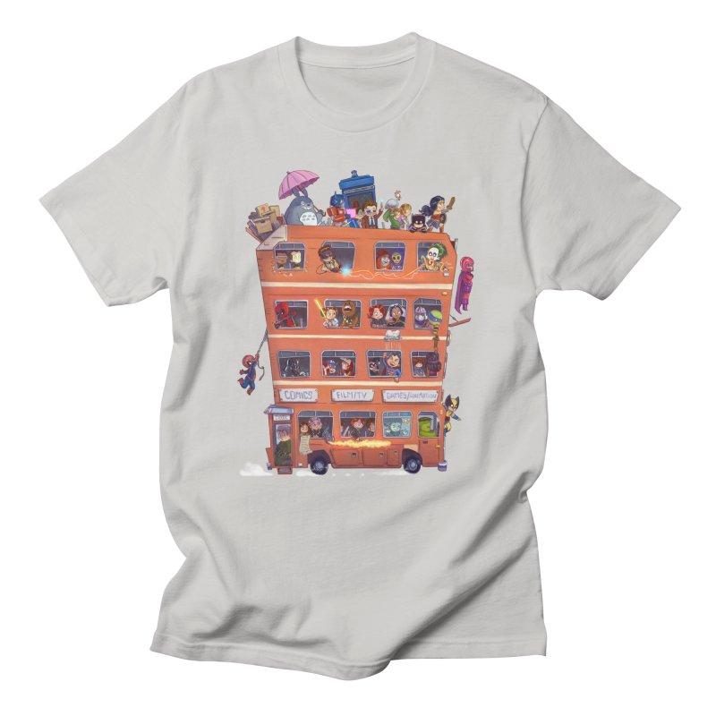 CON KIDS Men's T-Shirt by Patrick Ballesteros