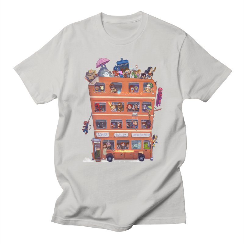 CON KIDS Men's T-Shirt by Patrick Ballesteros