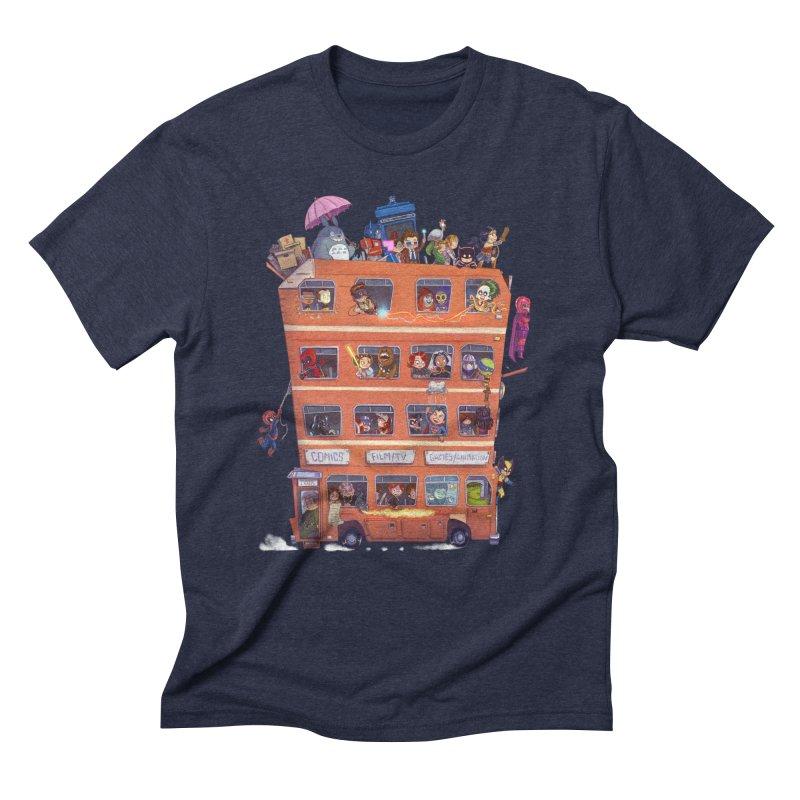 CON KIDS Men's Triblend T-Shirt by Patrick Ballesteros Art Shop