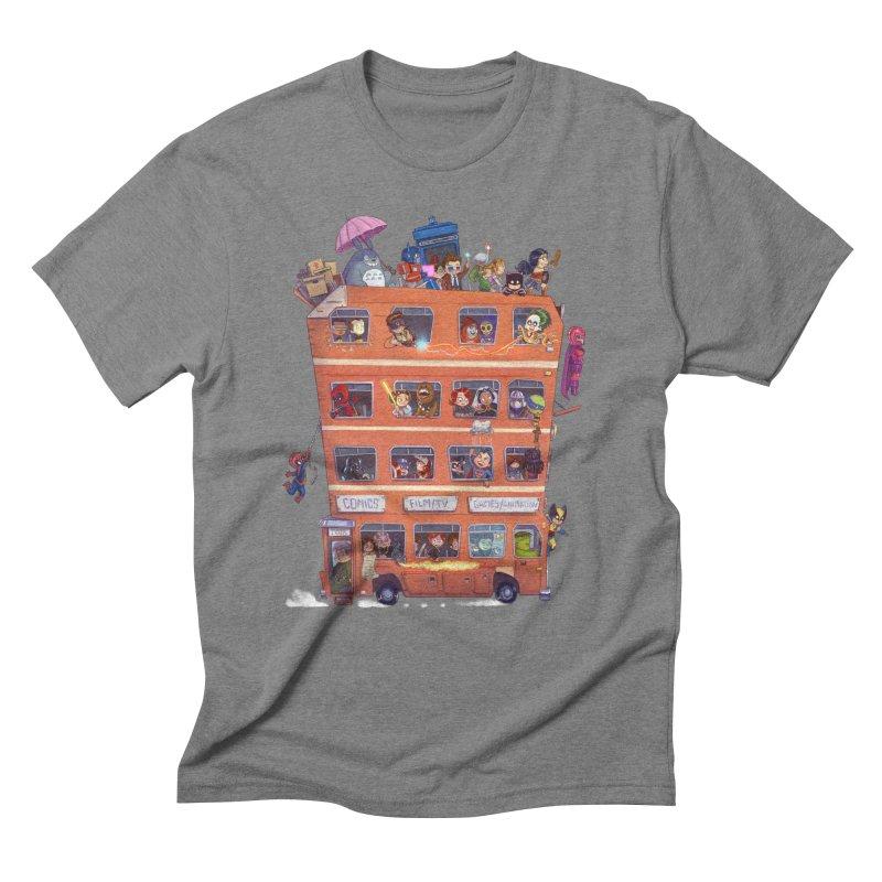 CON KIDS Men's Triblend T-Shirt by Patrick Ballesteros