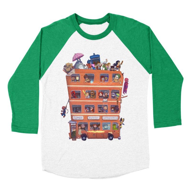 CON KIDS Women's Baseball Triblend T-Shirt by Patrick Ballesteros Art Shop