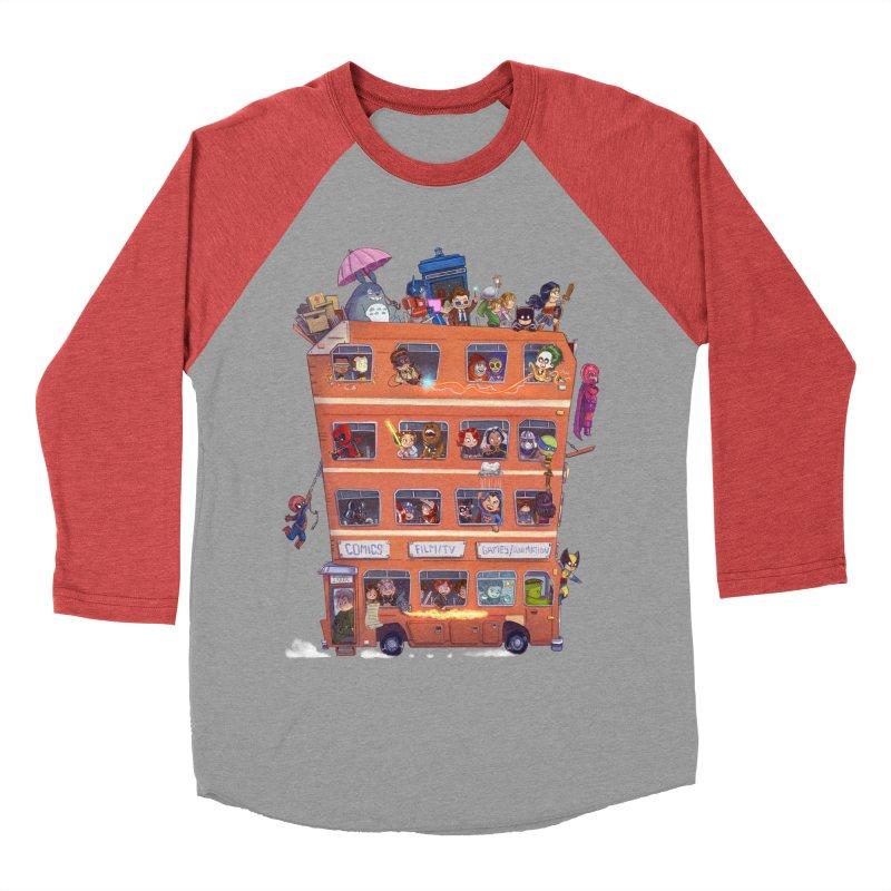 CON KIDS Men's Baseball Triblend Longsleeve T-Shirt by Patrick Ballesteros Art Shop