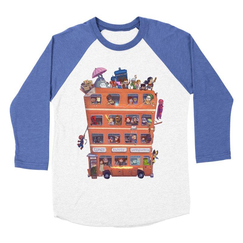 CON KIDS Men's Baseball Triblend T-Shirt by Patrick Ballesteros Art Shop