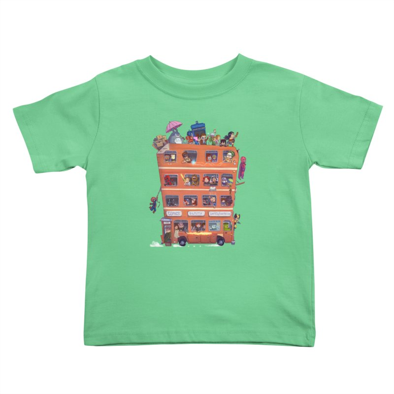 CON KIDS Kids Toddler T-Shirt by Patrick Ballesteros Art Shop