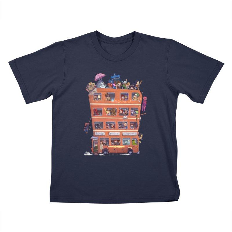 CON KIDS Kids T-Shirt by Patrick Ballesteros