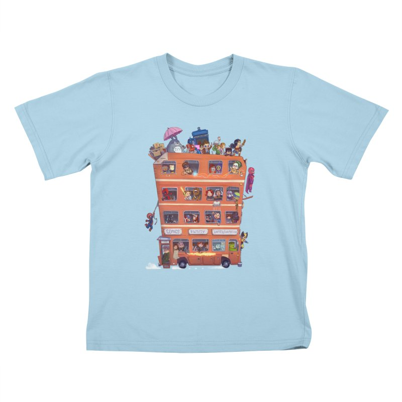 CON KIDS Kids T-Shirt by Patrick Ballesteros Art Shop
