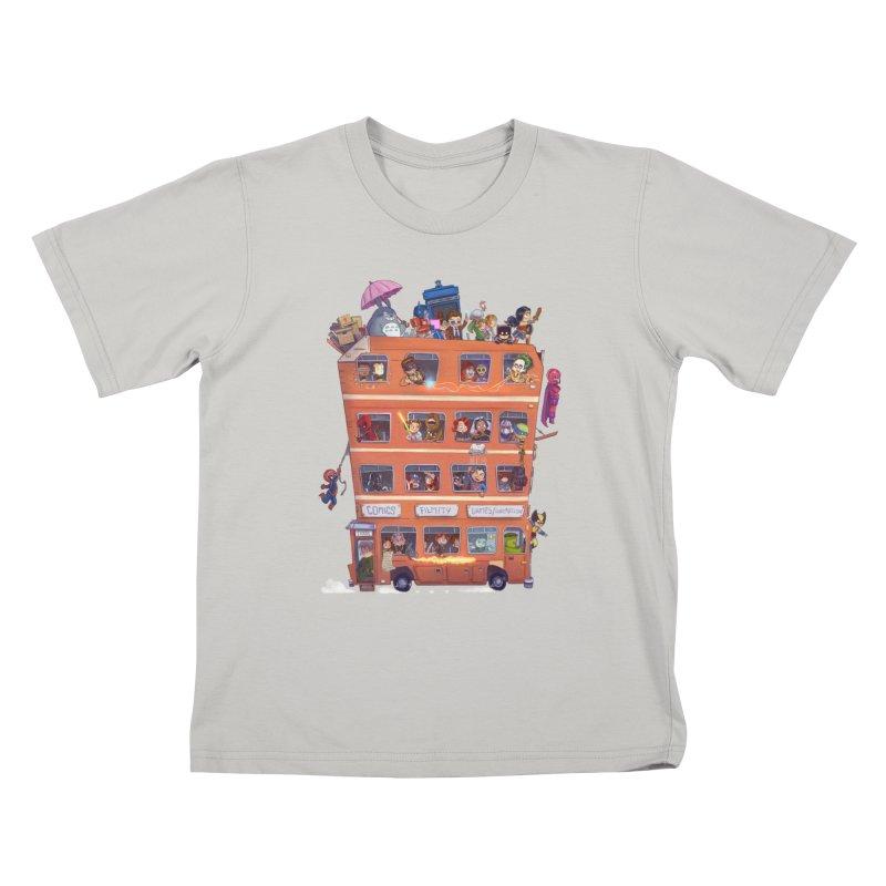 CON KIDS Kids T-Shirt by Patrick Ballesteros Art Shop