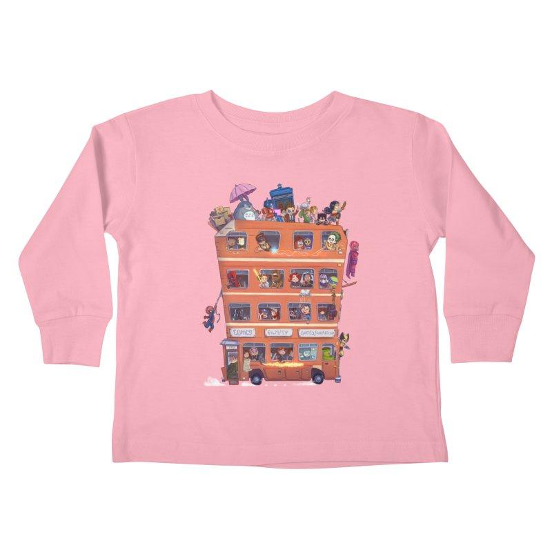 CON KIDS Kids Toddler Longsleeve T-Shirt by Patrick Ballesteros Art Shop