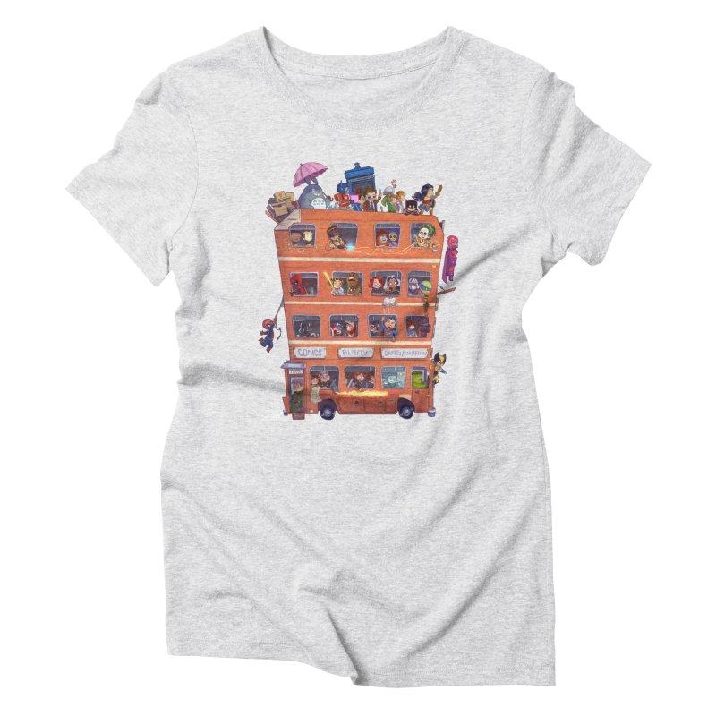 CON KIDS Women's Triblend T-Shirt by Patrick Ballesteros Art Shop