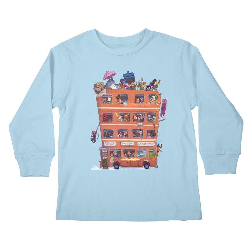 CON KIDS Kids Longsleeve T-Shirt by Patrick Ballesteros Art Shop