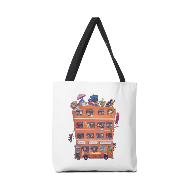CON KIDS Accessories Bag by Patrick Ballesteros Art Shop