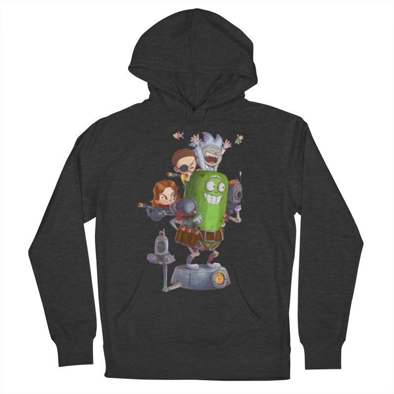 In A Pickle Men's French Terry Pullover Hoody by Patrick Ballesteros Art Shop