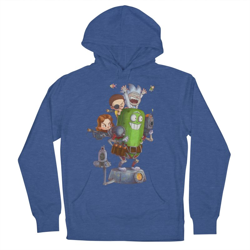 In A Pickle Men's French Terry Pullover Hoody by Patrick Ballesteros