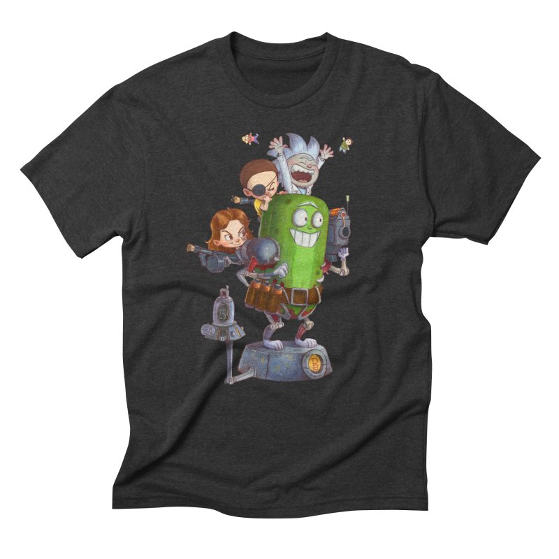 In A Pickle Men's Triblend T-Shirt by Patrick Ballesteros Art Shop