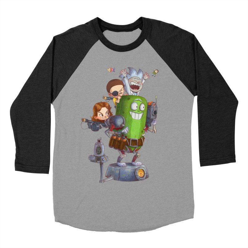 In A Pickle Men's Baseball Triblend T-Shirt by Patrick Ballesteros Art Shop