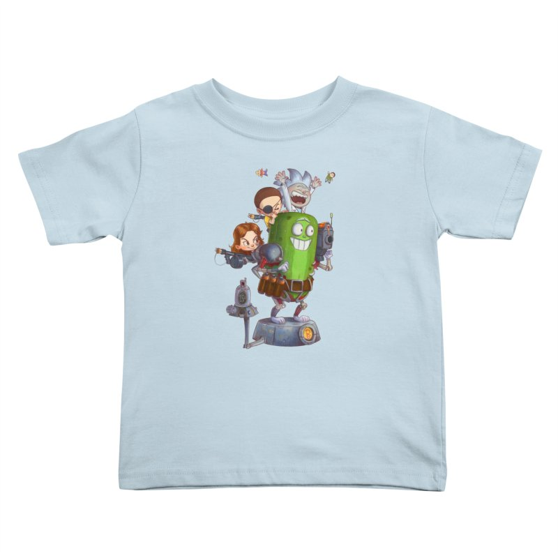 In A Pickle Kids Toddler T-Shirt by Patrick Ballesteros