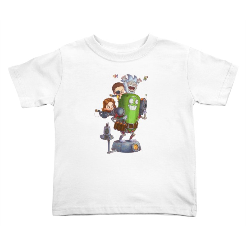 In A Pickle Kids Toddler T-Shirt by Patrick Ballesteros Art Shop