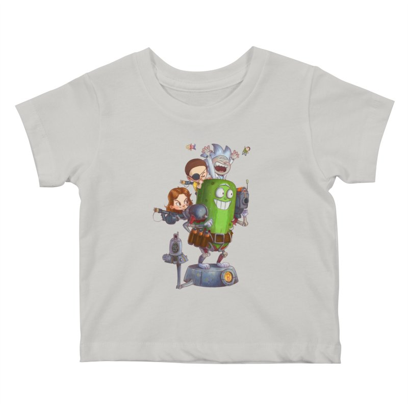 In A Pickle Kids Baby T-Shirt by Patrick Ballesteros Art Shop
