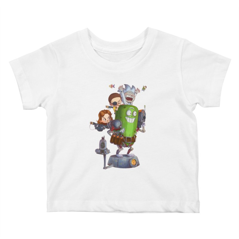 In A Pickle Kids Baby T-Shirt by Patrick Ballesteros